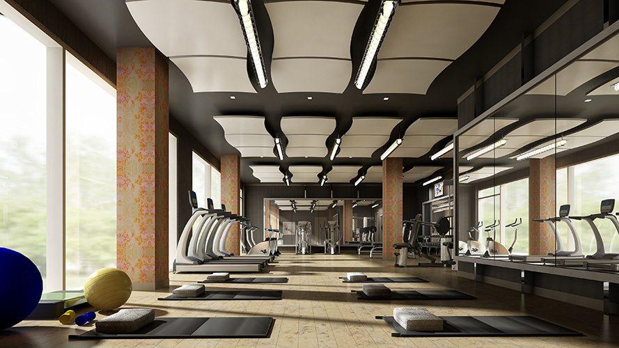 Argento Condos Gym Toronto, Canada