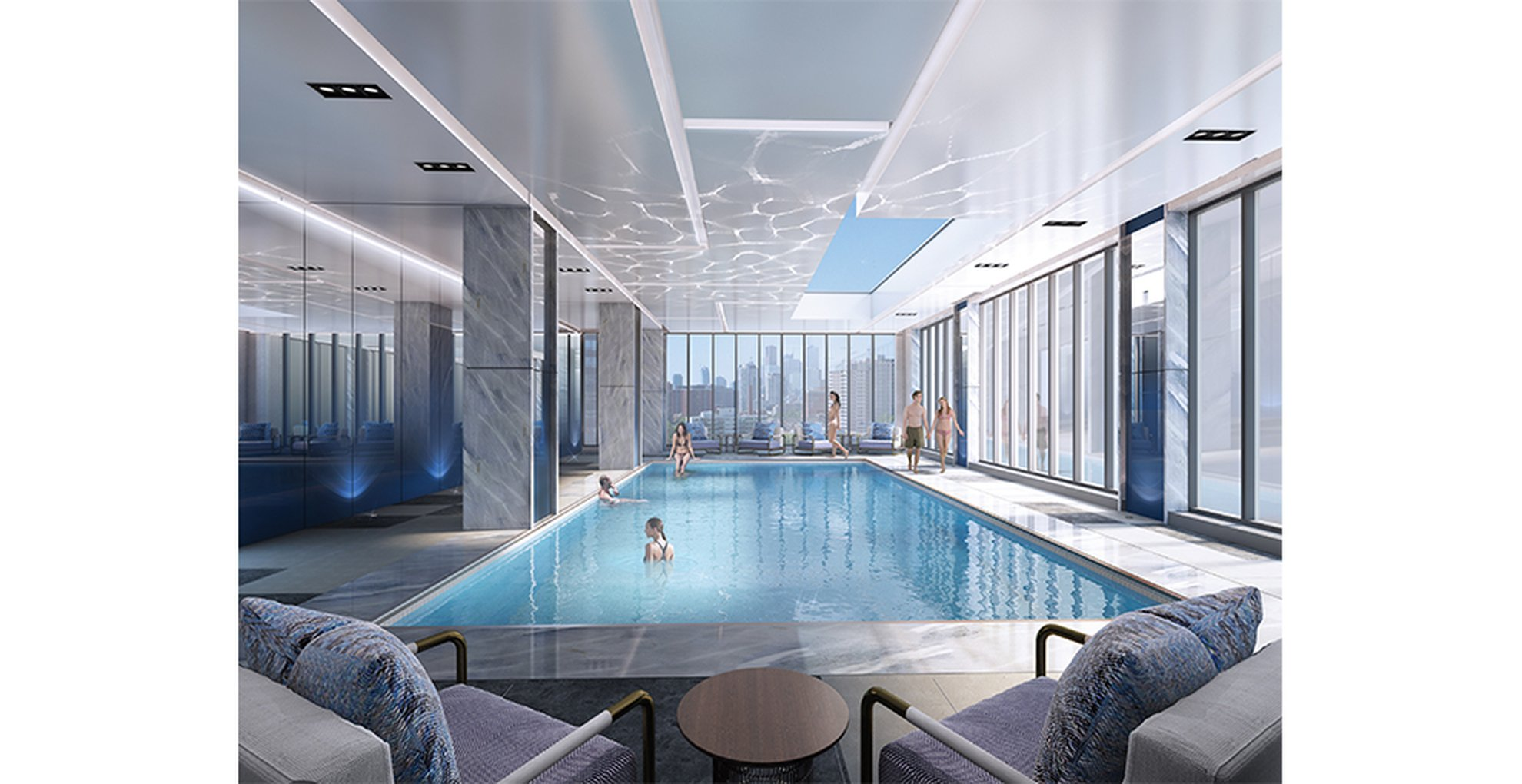 Skywatch Condos Swimming Pool Toronto, Canada