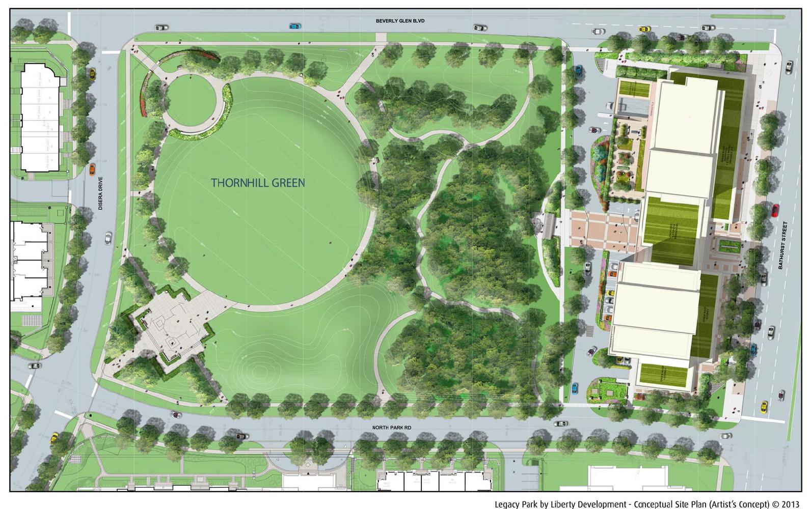 Legacy Park Condos Garden Plan Toronto, Canada
