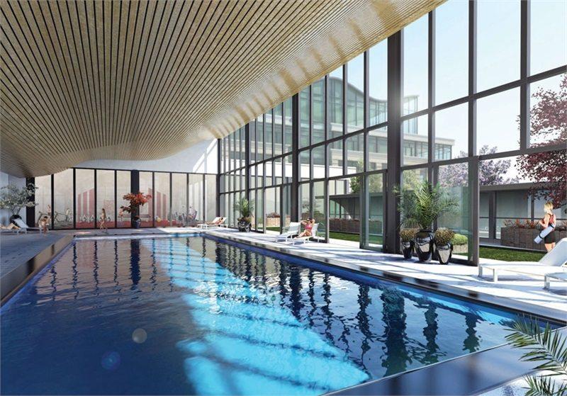 Expo Condos Indoor Pool Toronto, Canada