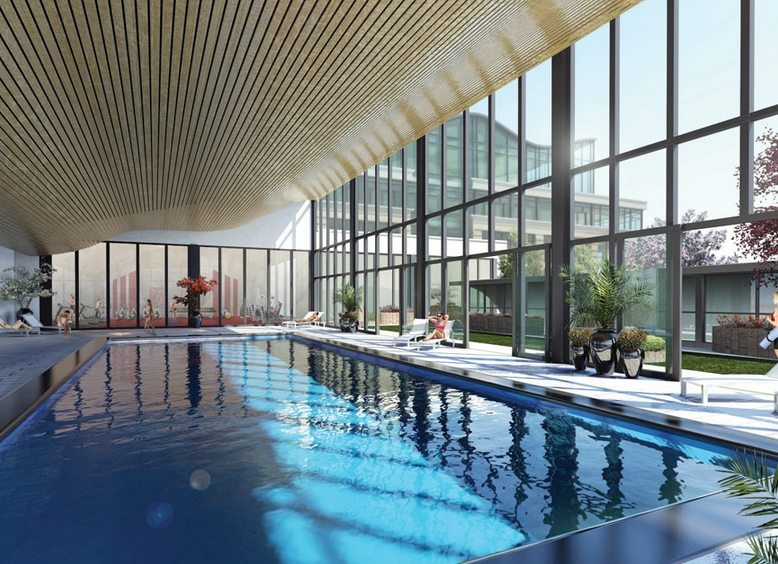 Expo 2 Condos Indoor Pool Toronto, Canada