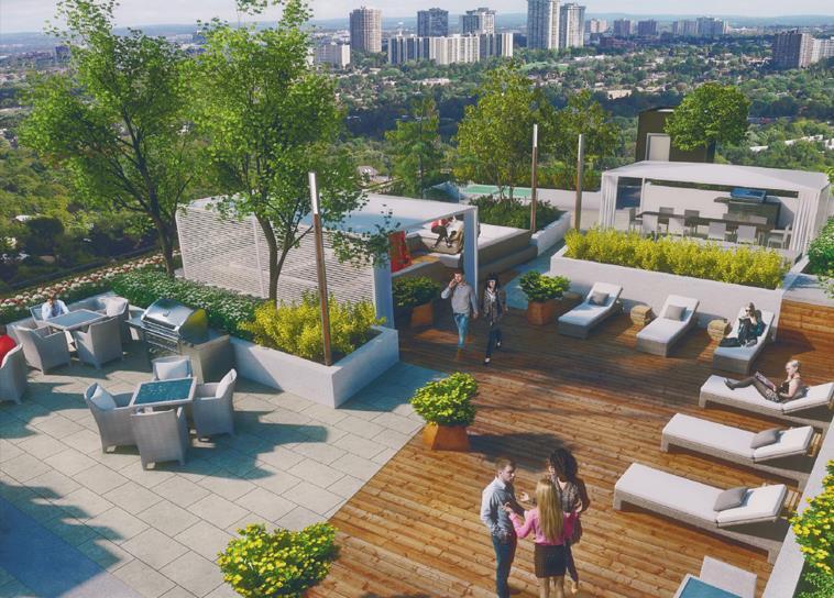 Lotus Condos Rooftop Party Toronto, Canada