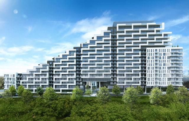Scala Condos Building View Toronto, Canada