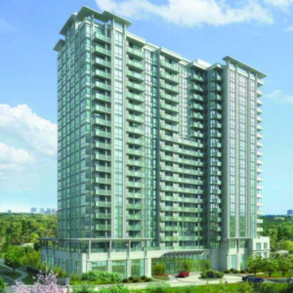 Savvy Condos Building View Toronto, Canada
