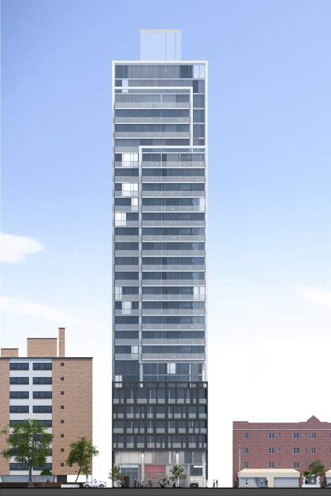 Eighty One Condos Building View Toronto, Canada