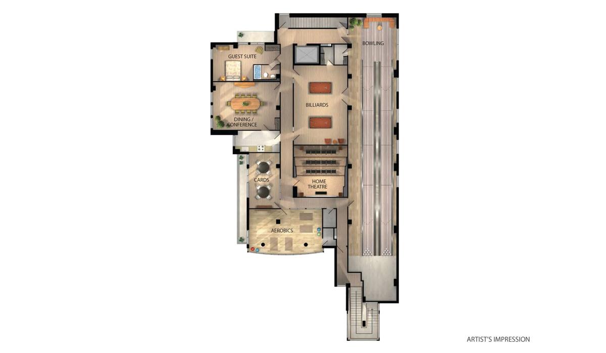 Grande Mirage Condos Floor Plan Toronto, Canada