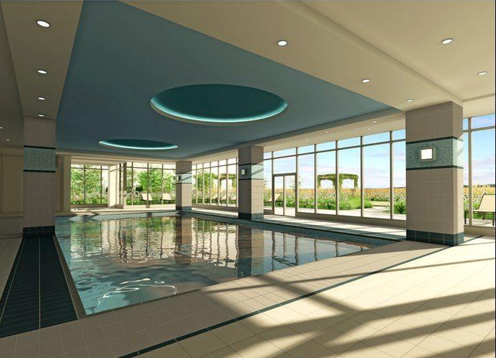 The Grand Condos Swimming Pool Toronto, Canada