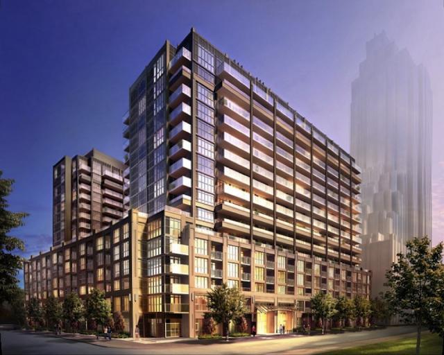 York Harbour Condos Building View Toronto, Canada