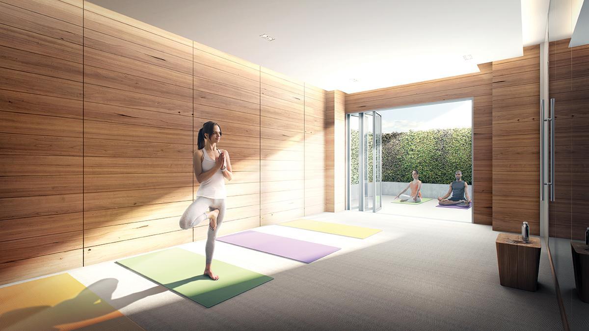 The Vanguard Condos Yoga Studio Toronto, Canada