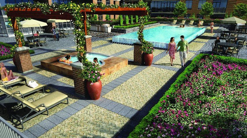 Treviso 2 Condos Outdoor Pool Toronto, Canada