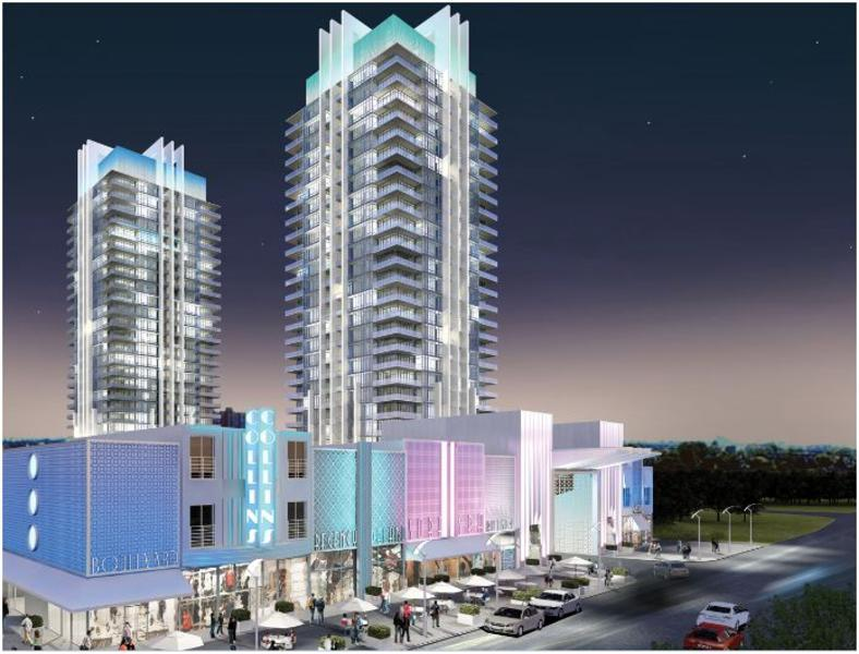 South Beach Condos Building View Toronto, Canada
