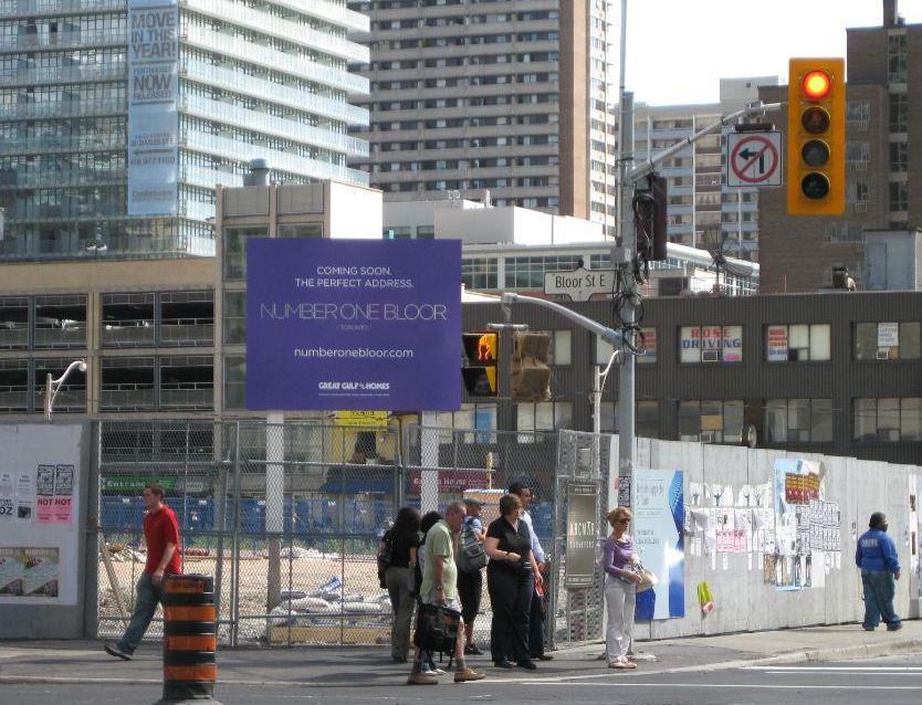 One Bloor Condos Street View Toronto, Canada