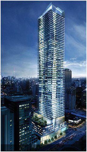 One Bloor Condos Building View Toronto, Canada