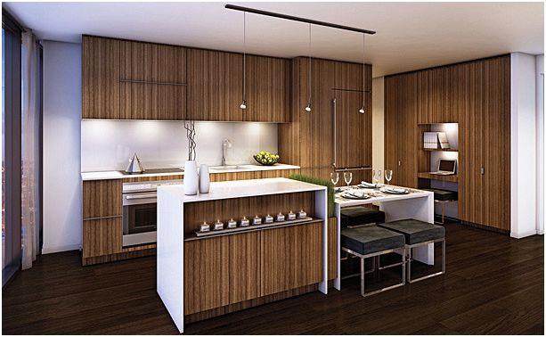 One Bloor Condos Kitchen Toronto, Canada