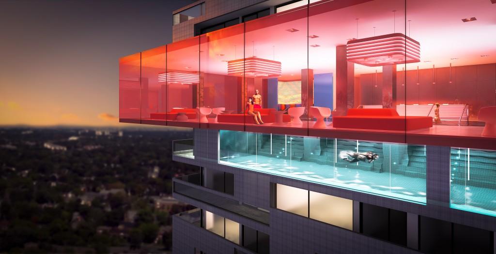 E Condos Condos Indoor Pool Toronto, Canada