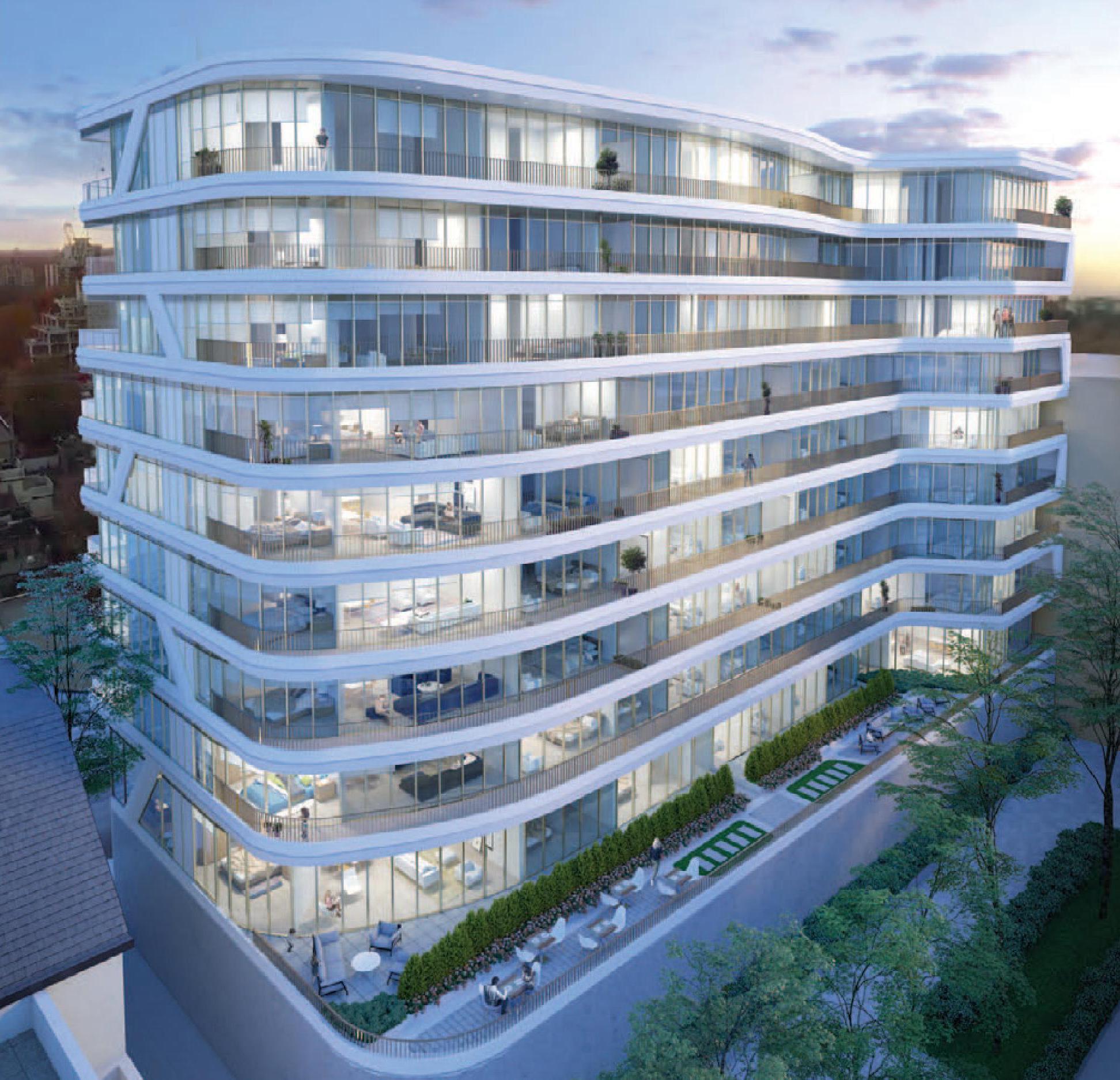 Avenue 151 Condos Exterior View Toronto, Canada