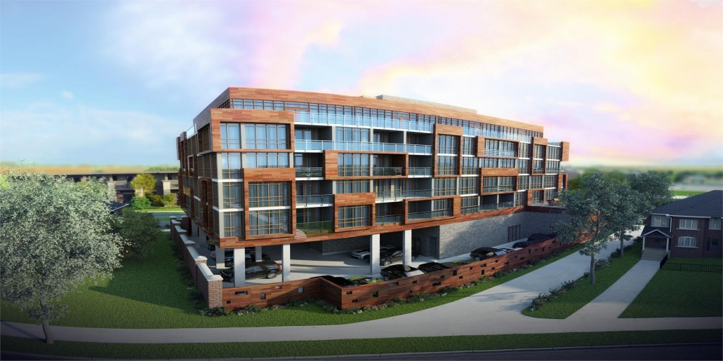 Appleby Gardens Condos Building View Toronto, Canada