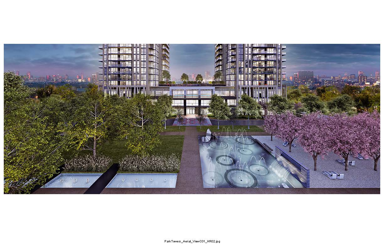 Park Towers at IQ Condos Garden View Toronto, Canada