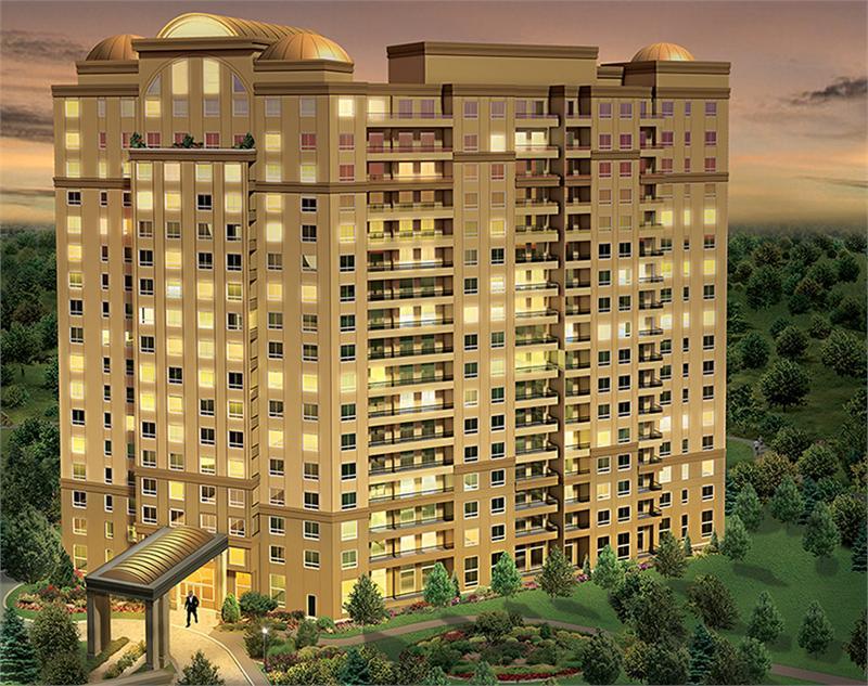 Bellaria Condos Building View Toronto, Canada