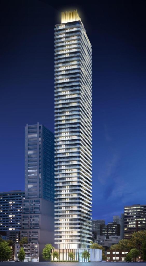 Casa 2 Condos Building View Toronto, Canada