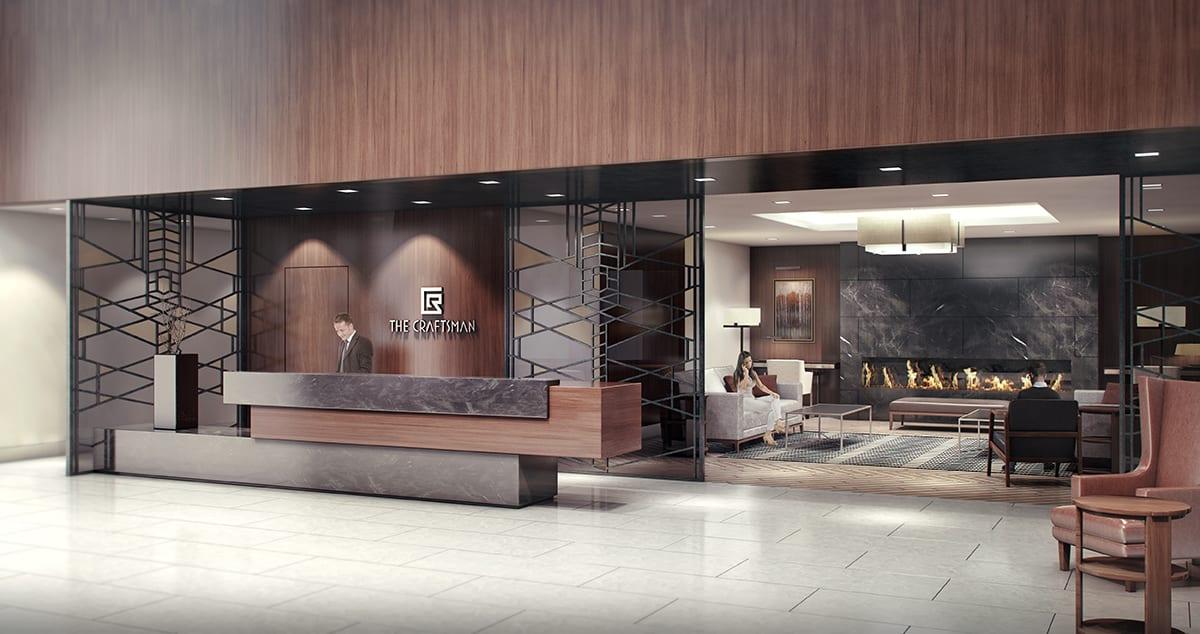 Craftsman Condos Building Lobby