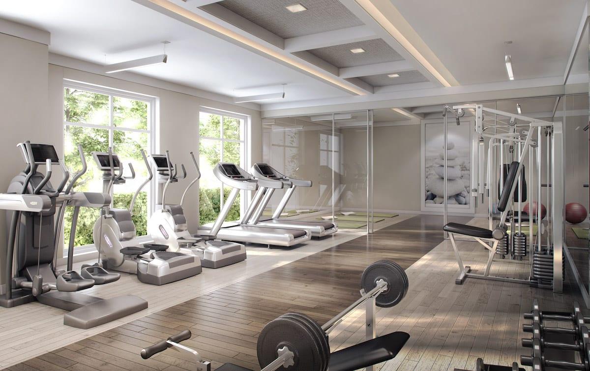 Craftsman Condos Building Gym
