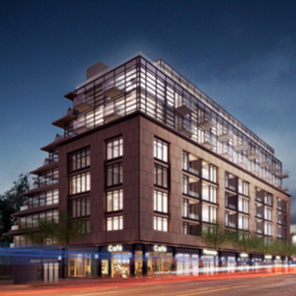 The Hill Condos Building View Toronto, Canada