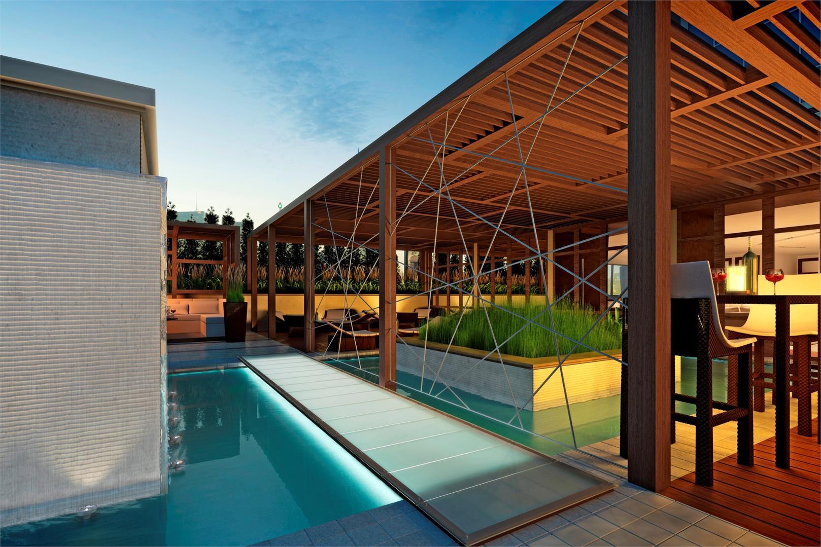 Fly Condos Terrace Pool Toronto, Canada