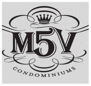Logo of M5V Condos