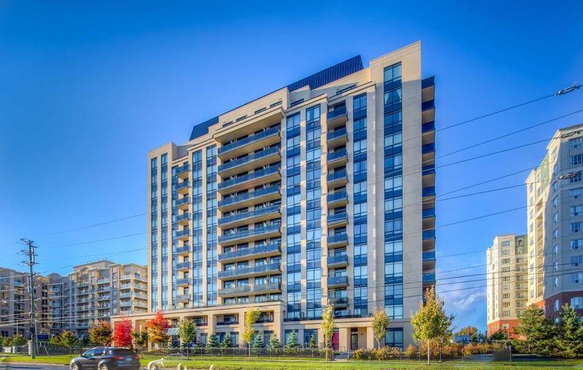 Posh Condos Building View Toronto, Canada