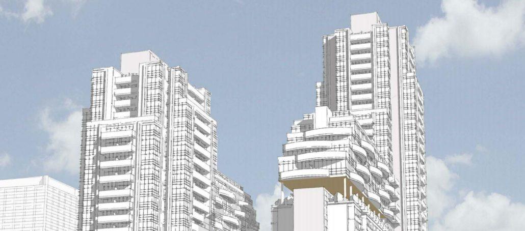 Plaza Midtown Condos Sketch Toronto, Canada