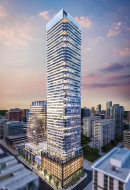Teahouse Condos Building View Toronto, Canada