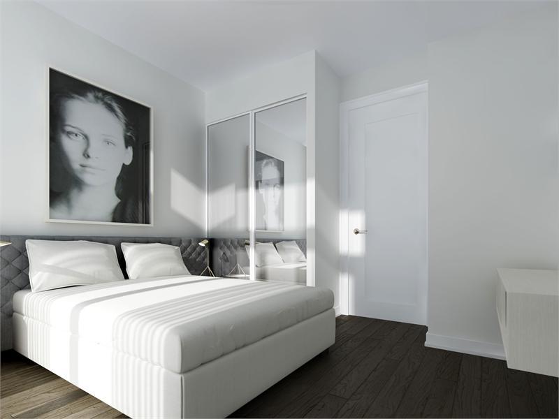 TEN 93 Condos Bedroom Toronto, Canada