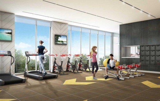 The Berkeley Condos Gym Toronto, Canada