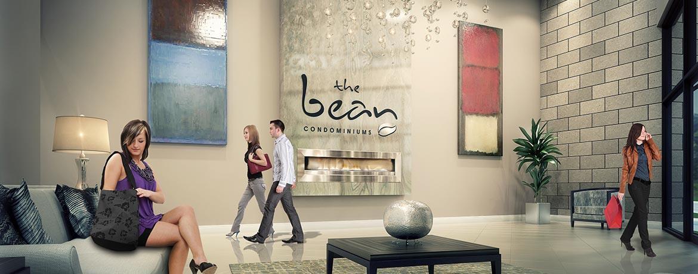 The Bean Condos Lobby Toronto, Canada
