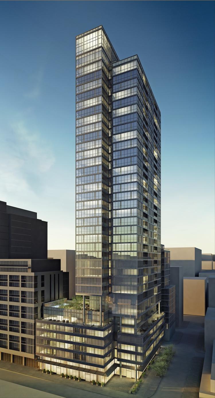 Charlie Condos Building View Toronto, Canada