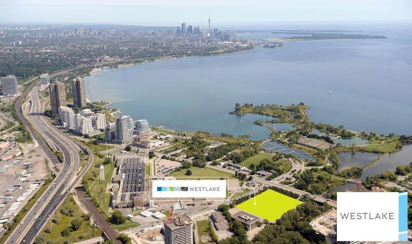 Westlake Condos Aerial View Toronto, Canada