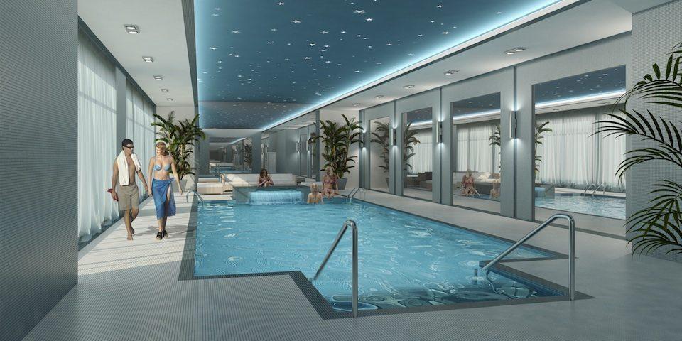 2150 Condos Swimming Pool Toronto, Canada