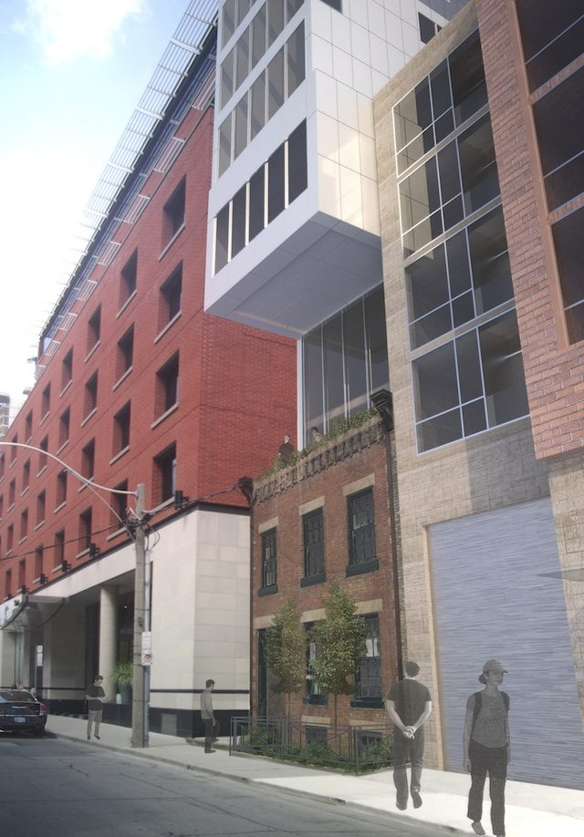 24 Mercer Condos Street View Toronto, Canada
