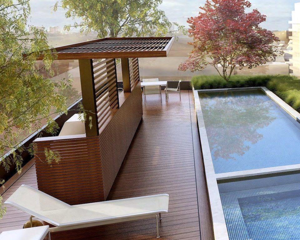 277 Davenport Condos Terrace Pool Toronto, Canada