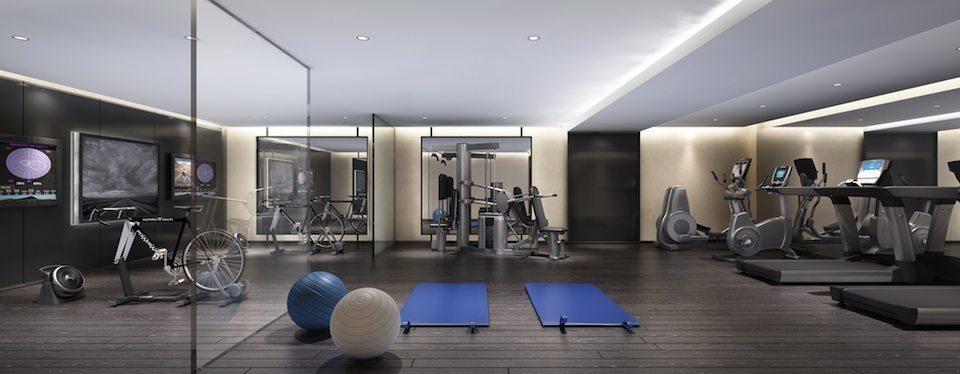36 Hazelton Condos Gym Toronto, Canada