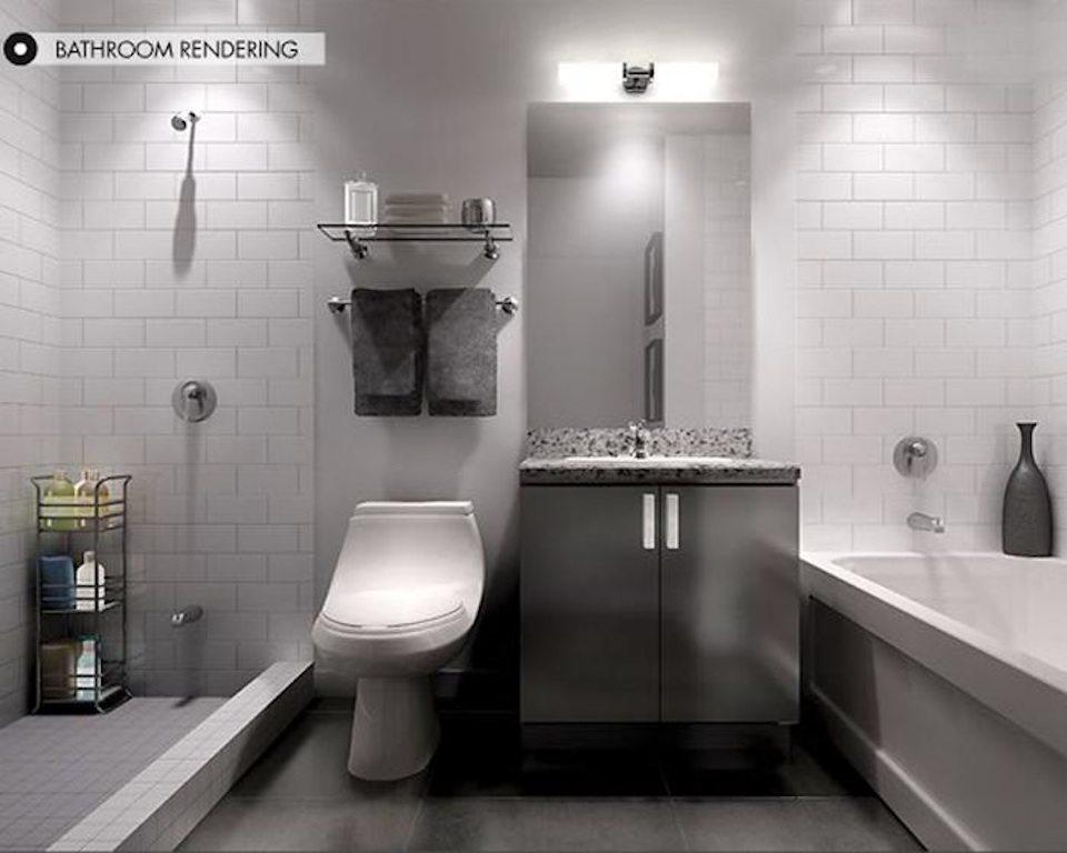400 Wellington West Condos Bathroom Toronto, Canada