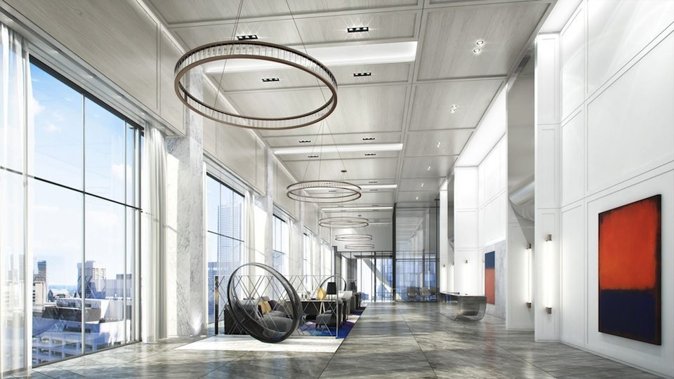 488 University Residences Condos Lobby Toronto, Canada