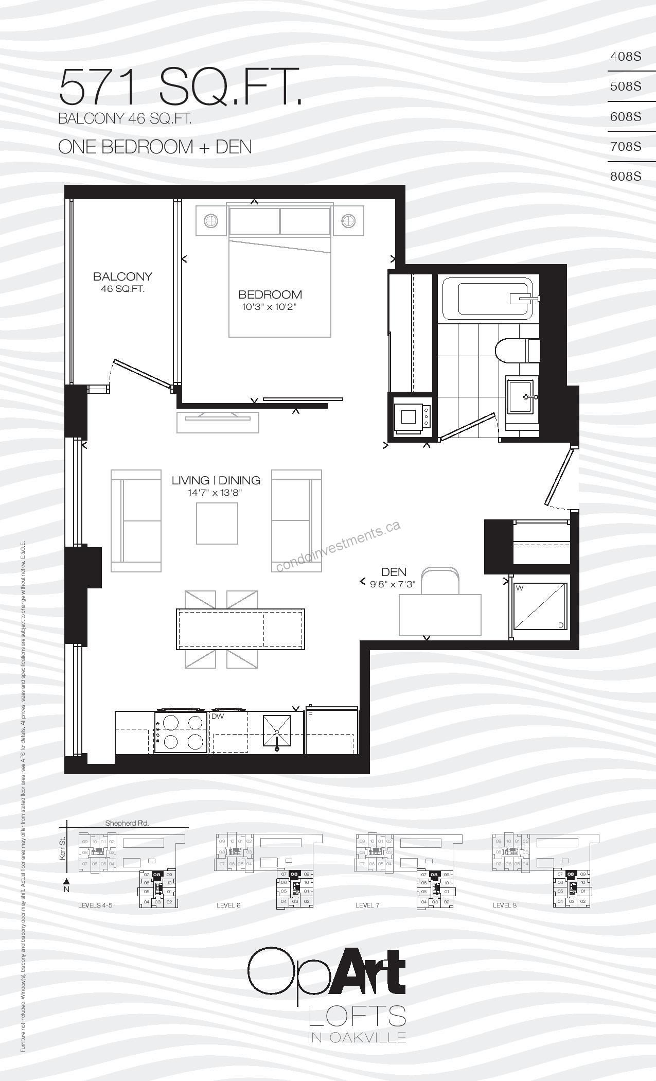 Opart Lofts In Oakville Canada Condo Investments