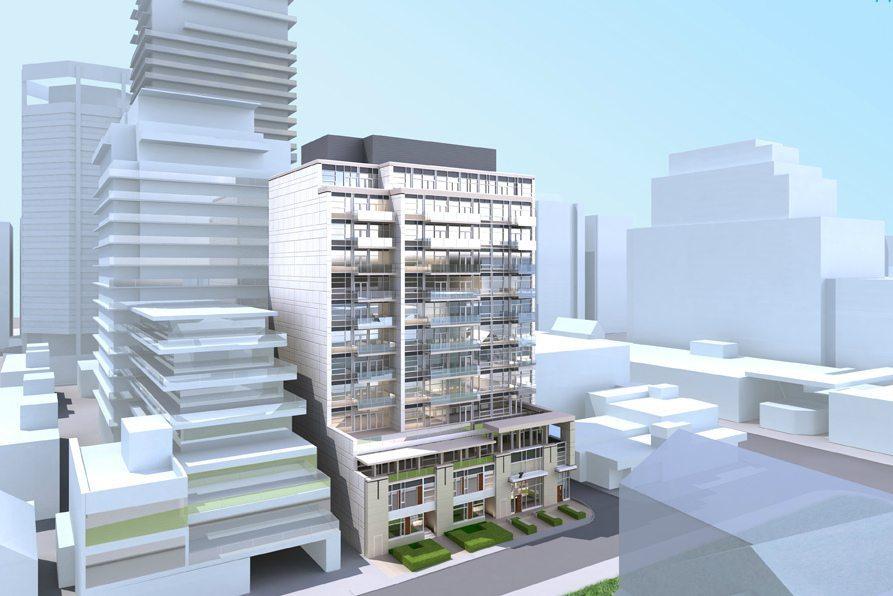 7 Heath Street East Condos Building View Toronto, Canada