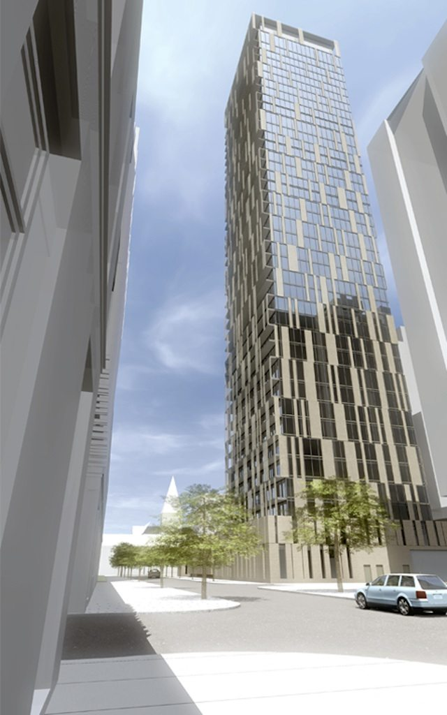 70 St. Mary Street Condos Building View Toronto, Canada