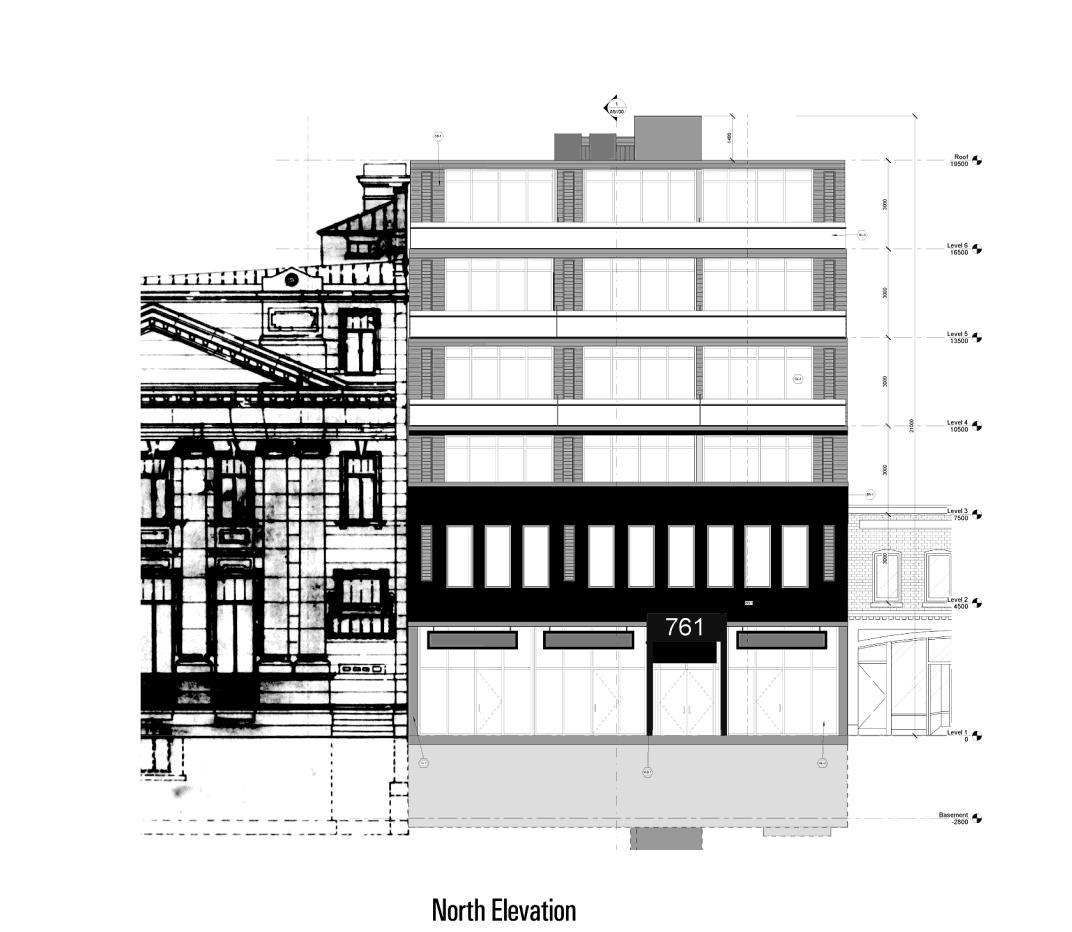 763 Queen Street East Condos Sketch Toronto, Canada