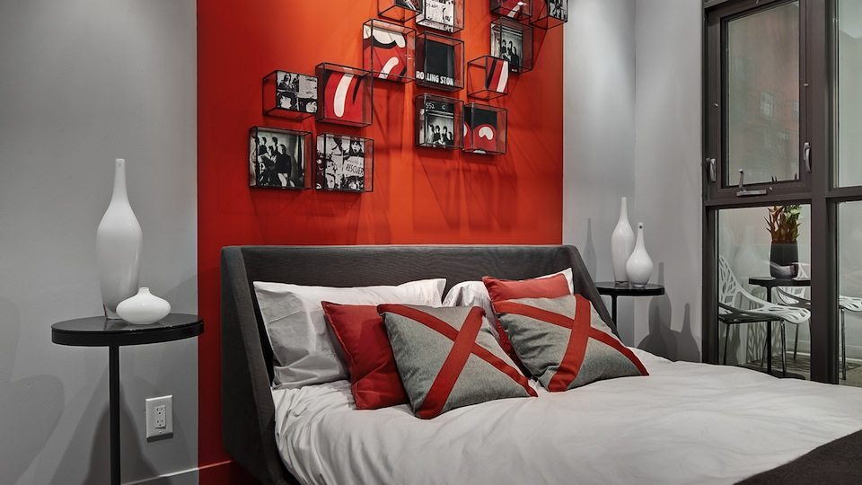 8 Gladstone Condos Bedroom Toronto, Canada