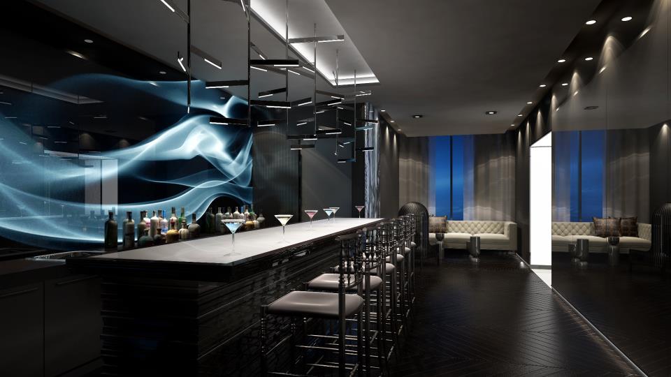 87 Peter Condos Wine Lounge Toronto, Canada
