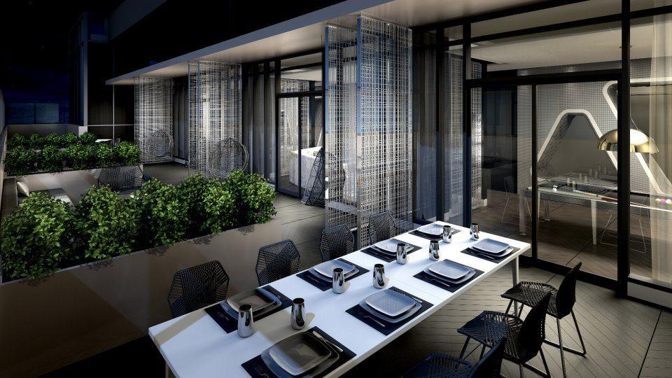 87 Peter Condos Terrace Dinning Toronto, Canada